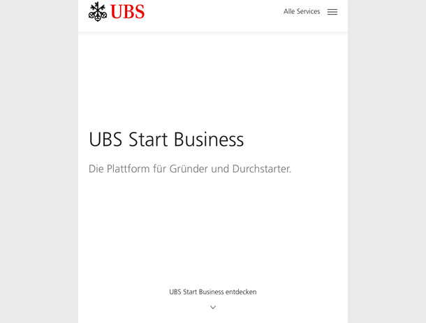 UBS Start Business